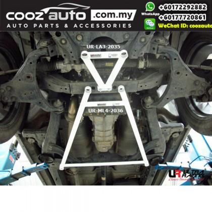 Isuzu D-Max 2.5D 2011 2nd Gen Ultra Racing Middle Lower Bar (4 Points)