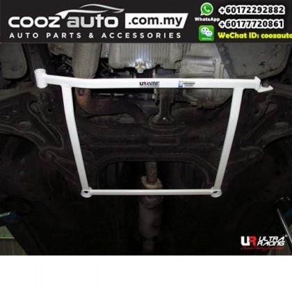 Chevrolet Aveo T250 1.5 2005 Ultra Racing Front Lower Bar Member Brace (4 Points