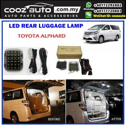 Toyota Alphard Rear Luggage Boot Trunk LED Light Lamp