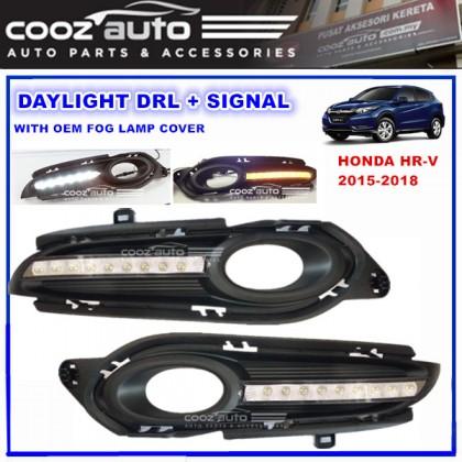 Honda HR-V HRV 2015 - 2018 Daylight Daytime DRL + Signal + Fog Lamp Cover