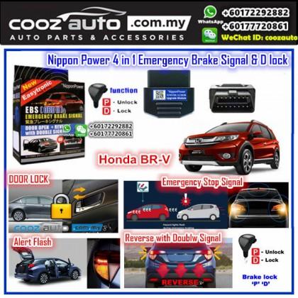 Honda BRV BR-V Nippon Power 4 IN 1 OBD EBS D Lock Emergency Brake Signal