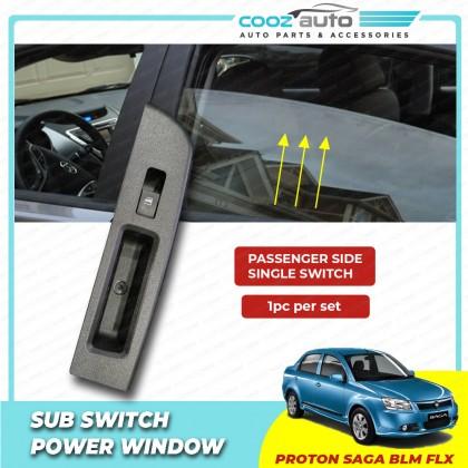 Proton Saga  BLM FL FLX Power Window Single Switch With Casing Passenger Side