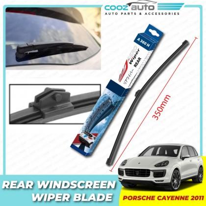 "Porsche Cayenne 2011 Aero Wiper Rear Windscreen Flat Wiper Blade 14"" (350mm)"