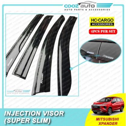 Mitsubishi XPander 2020 Injection Visor Super Slim Style Door Visor