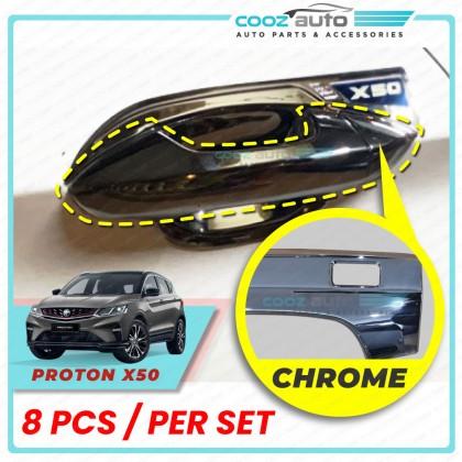 Proton X50 Door Handle Cover Chrome Protector Guard