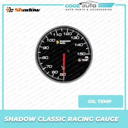 Shadow Classic Racing Gauge Meter Kit Boost Exhaust Gas Fuel Press Oil Water Temp Volt Meter