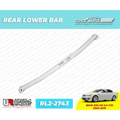 BMW E60 M5 5.0 2005 - 2010 Rear Lower Bar Member Brace Ultra Racing (2 Points)