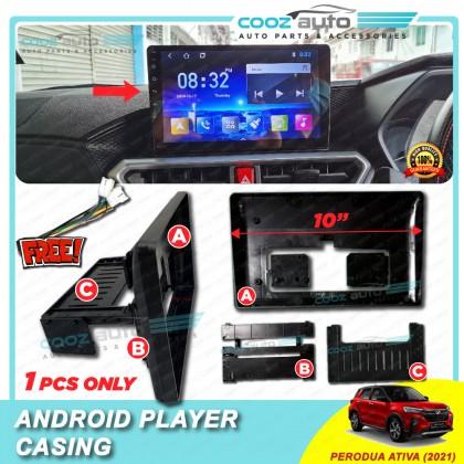 Perodua Ativa Slim Low Spec Dashboard Audio Android Player Radio FM Casing Frame