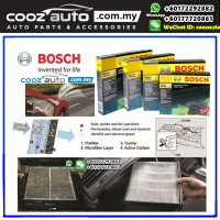 Honda City 2009-2013 Bosch Activated Carbon Cabin Air Cond Aircon Replacement Filter