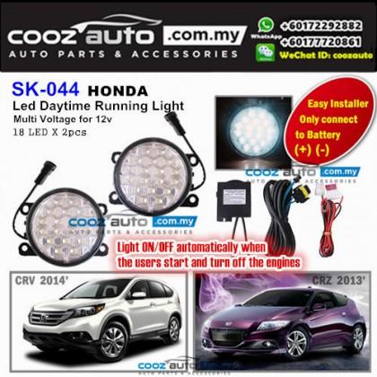 Honda CRZ CR-Z 18 LED Daytime Running Light DRL Fog Lamp