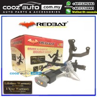 Honda Accord 2013-2017 (Key Start)  Redbat High Security Anti-Theft Double Brake Pedal Lock with Socket Immobilizer