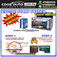 Mitsubishi Lancer GT 2008-2015 EasyCar ANTI-THEFT Ultra Touch n Start Invisible Hidden Switch Engine Start System