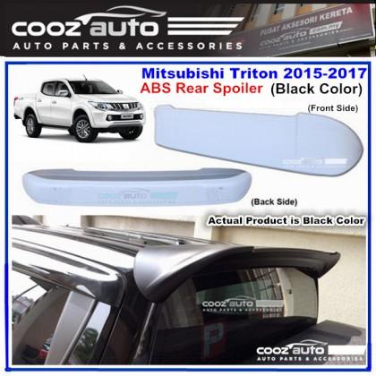 Mitsubishi Triton 2015-2017 ABS Rear Roof Spoiler (Black Color)