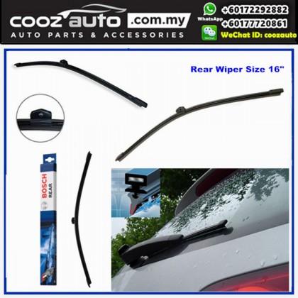 "AUDIA4 Avant MK3 8K5 B8 2008-2015 Bosch Rear Windscreen Flat Wiper Blade 16"" (400mm)"