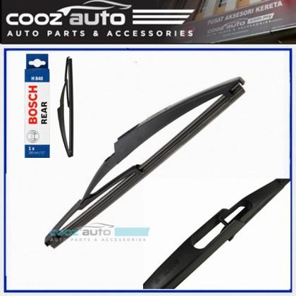 """Peugeot 5008 2009-2014 Bosch Specific Fit Rear Windscreen Flat Wiper Blade 12"""" (290mm)"""