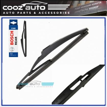 """Peugeot 407 SW 2004-2011 Bosch Specific Fit Rear Windscreen Flat Wiper Blade 12"""" (290mm)"""