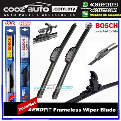 HONDA CITY GM2 GM3 2009-2013 Bosch Aerofit Frameless Flat Blade Wiper (2pcs/set)
