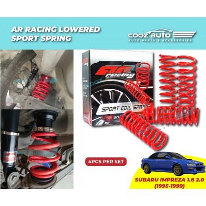 SUBARU IMPREZA 1.8 1995 - 1999 AR Racing Lowered Sport Coil Spring