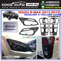 Isuzu D-Max Dmax 2013-2015 HeadLamp & TailLamap Head & Tail Lamp Cover