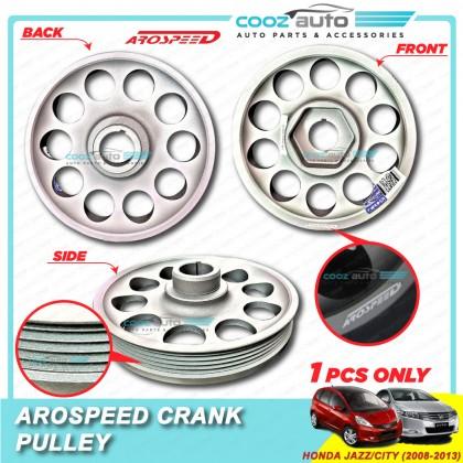 Honda City Jazz 2008-2013 Arospeed Harden Lighten Light Weight Crank Pulley (T6061 Aluminium)